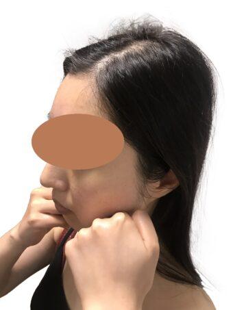 オンラインエステ_セルフエステ,顔の歪みや顎の歪み,小顔,アンチエイジング